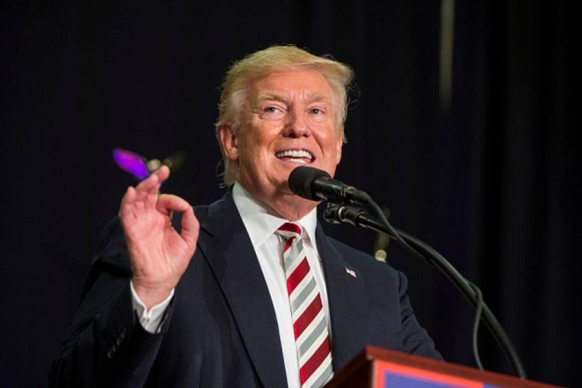 El candidato presidencial del Partido Republicano está 10 puntos debajo de Hillary Clinton Foto:Getty Images