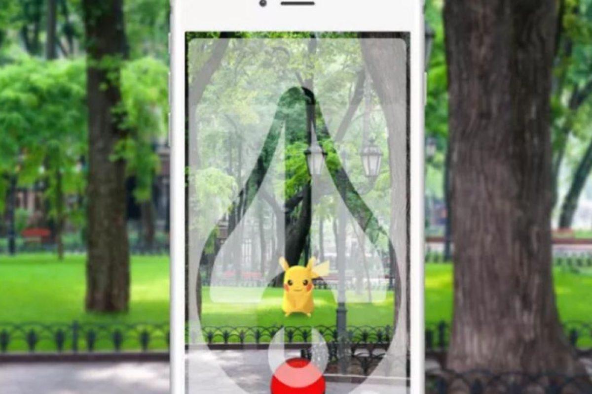 Así se ve el protector en un celular. Foto:Supershot Go