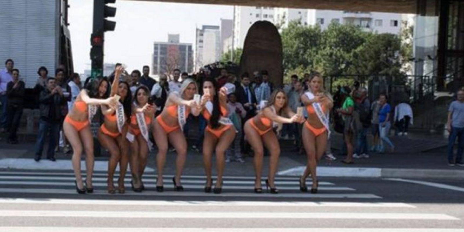 Las mujeres más exuberantes de Brasil salieron a cazar pokémon Foto:Globo.com