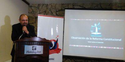 Crean proyecto para vigilar el proceso de reformas constitucionales