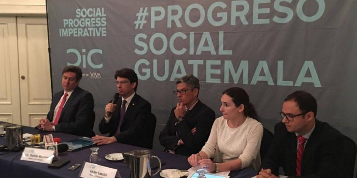Guatemala retrocede en progreso social