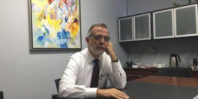 Velásquez conversó con Publinews. Foto:Fernando Ruíz
