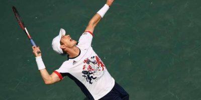 Andy Murray superó a Juan Mónaco 6-3 y 6-1 y continúa en su defensa del oro olímpico Foto:Getty Images