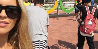 Río 2016: Chica Playboy es el talismán de medallista olímpico