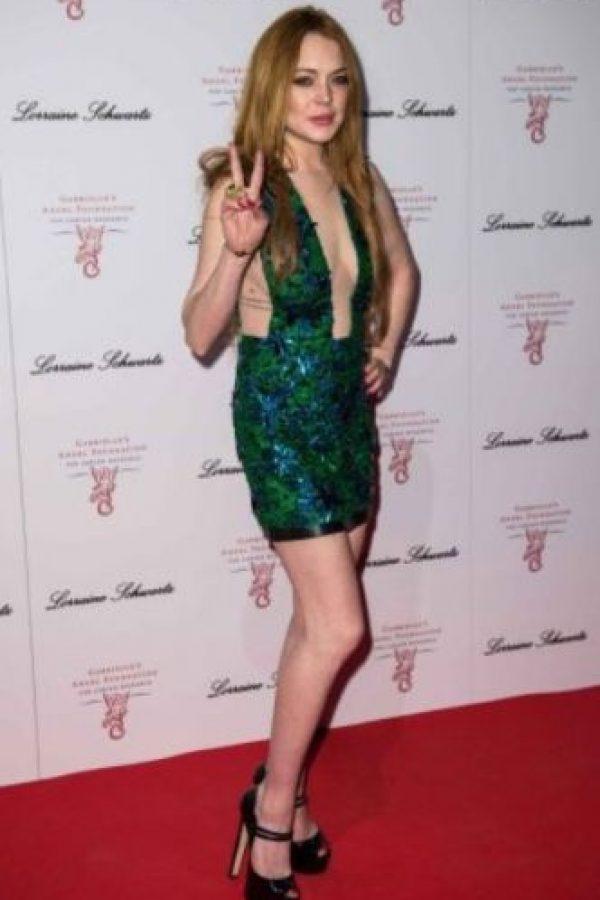 Lindsay no pasa por el mejor momento de su vida Foto:Getty Images