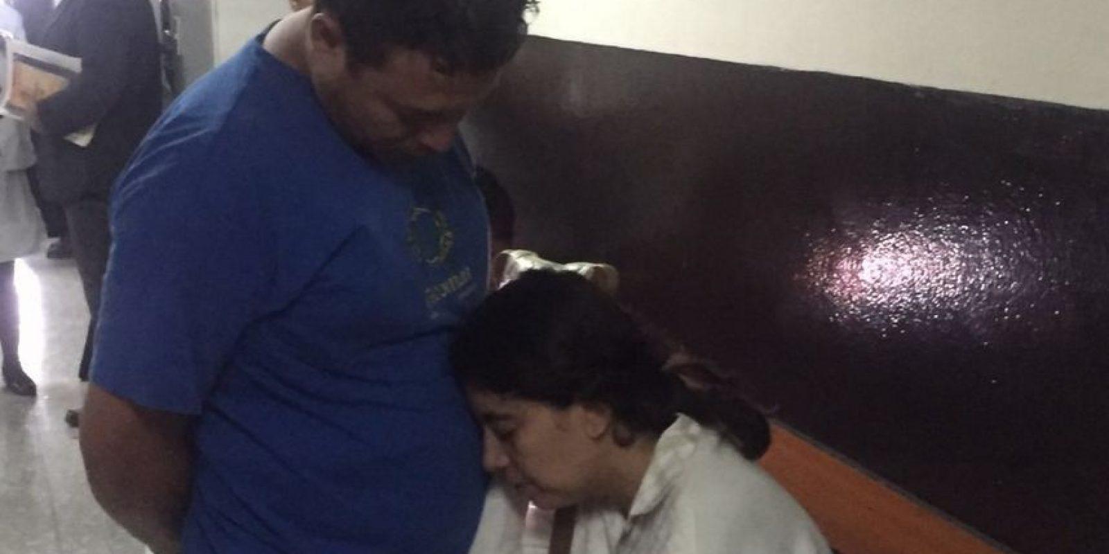 Los padres fueron enviados a prisión preventiva. Foto:Cortesía