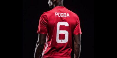 Ahora, Manchester United pagó 105 millones de euros para repatriar a Paul Pogba Foto:Twitter