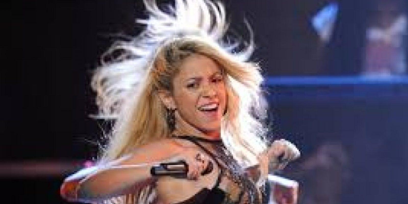 """Lo hizo con Shakira, para su álbum """"Fijación Oral"""" Foto:Getty"""