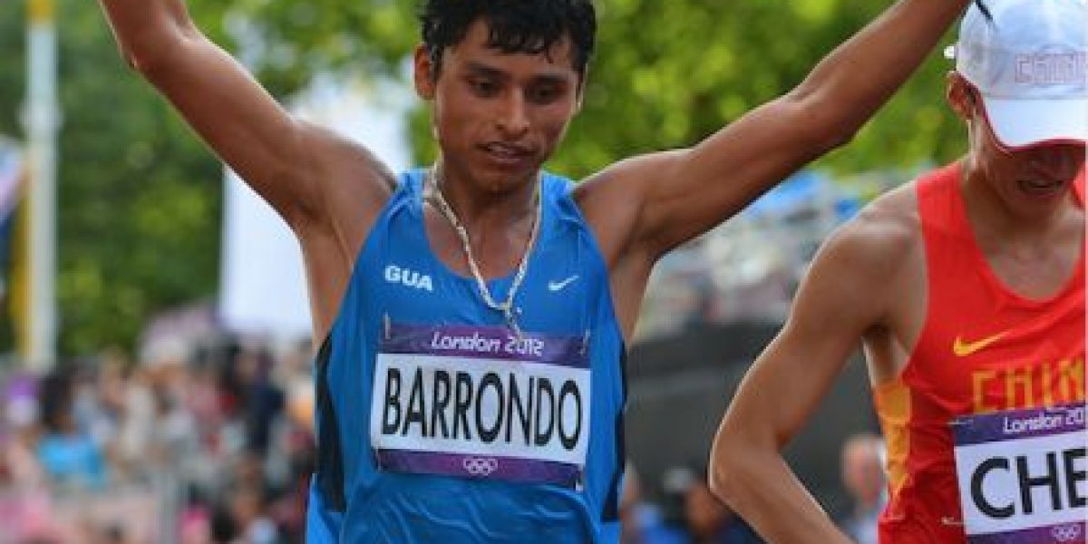 Erick Barrondo es la amenaza de los chinos dice la prensa internacional