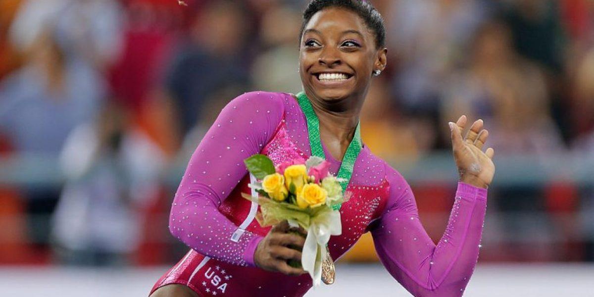 Famosa gimnasta olímpica se