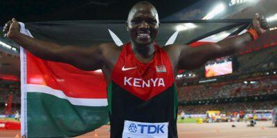 Julius Yego, el atleta que entrenaba con videos de Youtube Foto:Getty Images