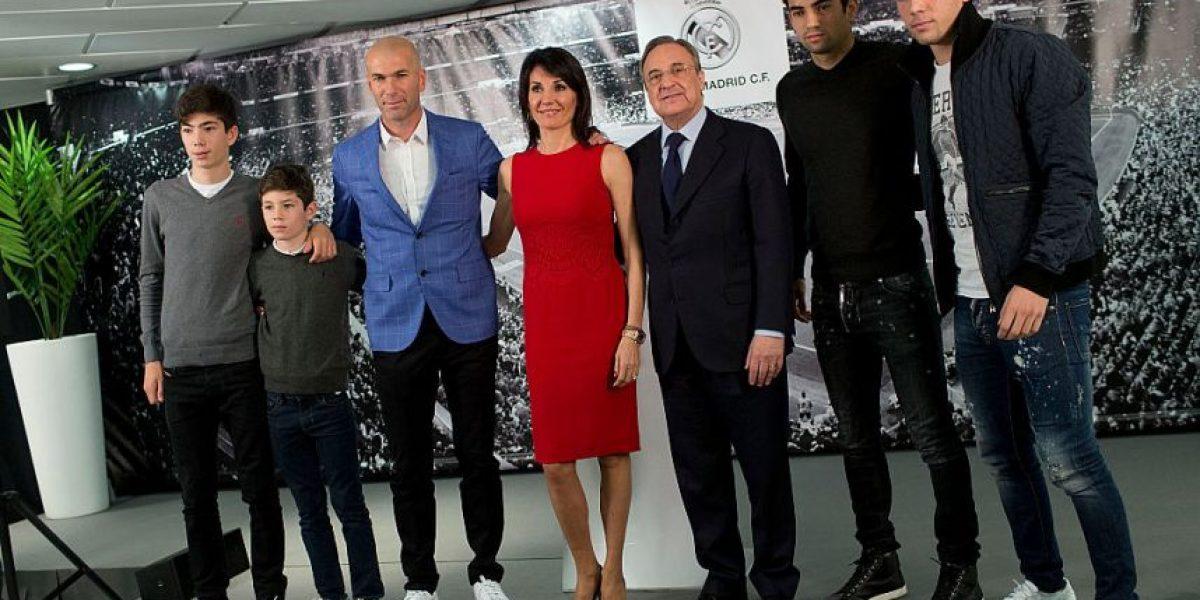 El guapo hijo de Zinedine Zidane se roba todas las miradas en las redes sociales