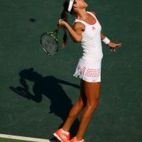6. La también favorita Ana Ivanovic fue eliminda por Carla Suárez