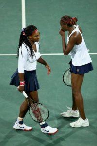 7. En dobles, las hermanas Serena y Venus Williasm cayeron en la primera fase ante las checas Safarova y Strycova Foto:Getty ImagesGetty Images