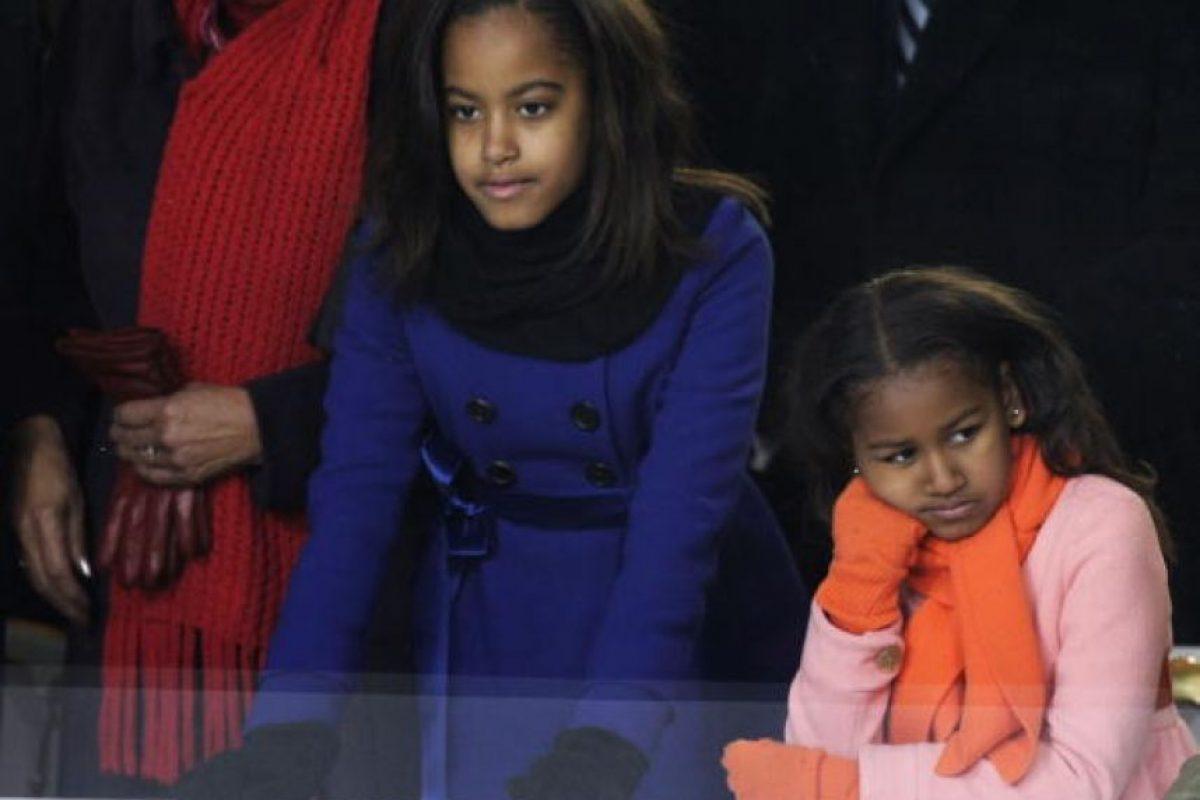 """Al ser cuestionado si el Servicio Secreto tiene órdenes en contra de los """"pretendientes"""" de sus hijas, Obama respondió Foto:Getty Images"""