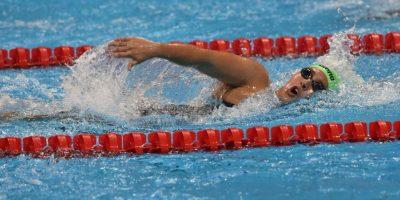Valerie Gruest termina tercera en su heat eliminatorio en Rio