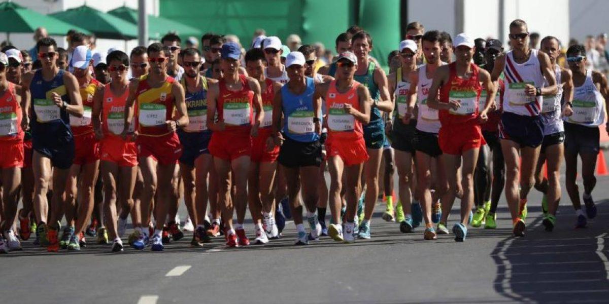 Erick Barrondo no pudo repetir la hazaña de Londres en los 20 km