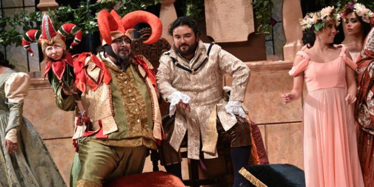 ¿Te perdiste la ópera Rigoletto? Acá podrás ver a Mario Chang y la obra completa