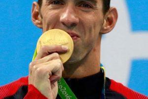 Es el deportista más condecorado en la historia de los Juegos Olímpicos Foto:Getty Images