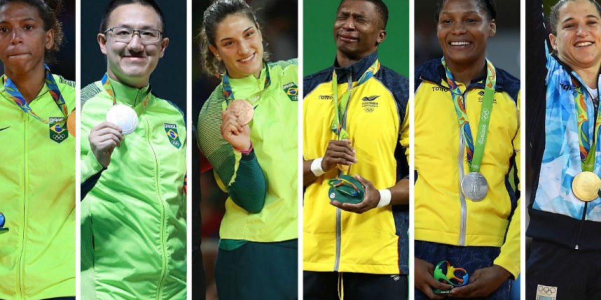 Las medallas que ha ganado Latinoamérica en Rio 2016