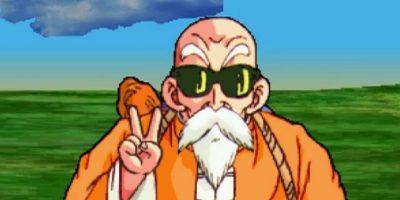 El maestro Roshi es un anciano ultra resistente. Foto:vía Toei
