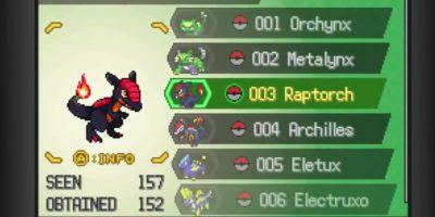 Así se ve el juego para PC de los fanáticos de la saga Pokémon. Foto:PokemonUranium