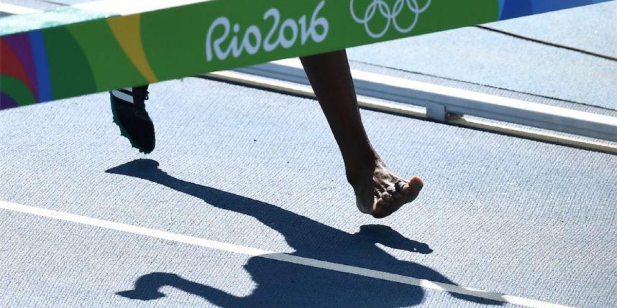 VIDEO. Dramática escena, compitió sin un zapato en Rio y fue premiada