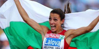 Iveta Lalóva – La velocista búlgara causa sensación en las redes sociales. Es una campeona en la pista. Foto:Getty Images