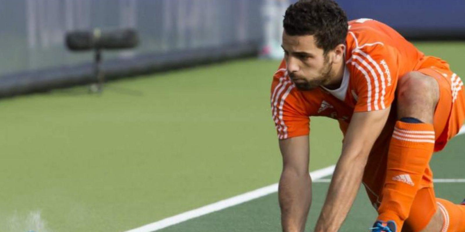 Valentín Verga – Jugador de jockey sobre césped argentino que se nacionalizó holandés. Foto:Getty Images