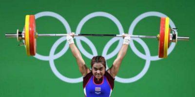 Sopita Tanasan – Atleta tailandésa. Foto:Getty Images