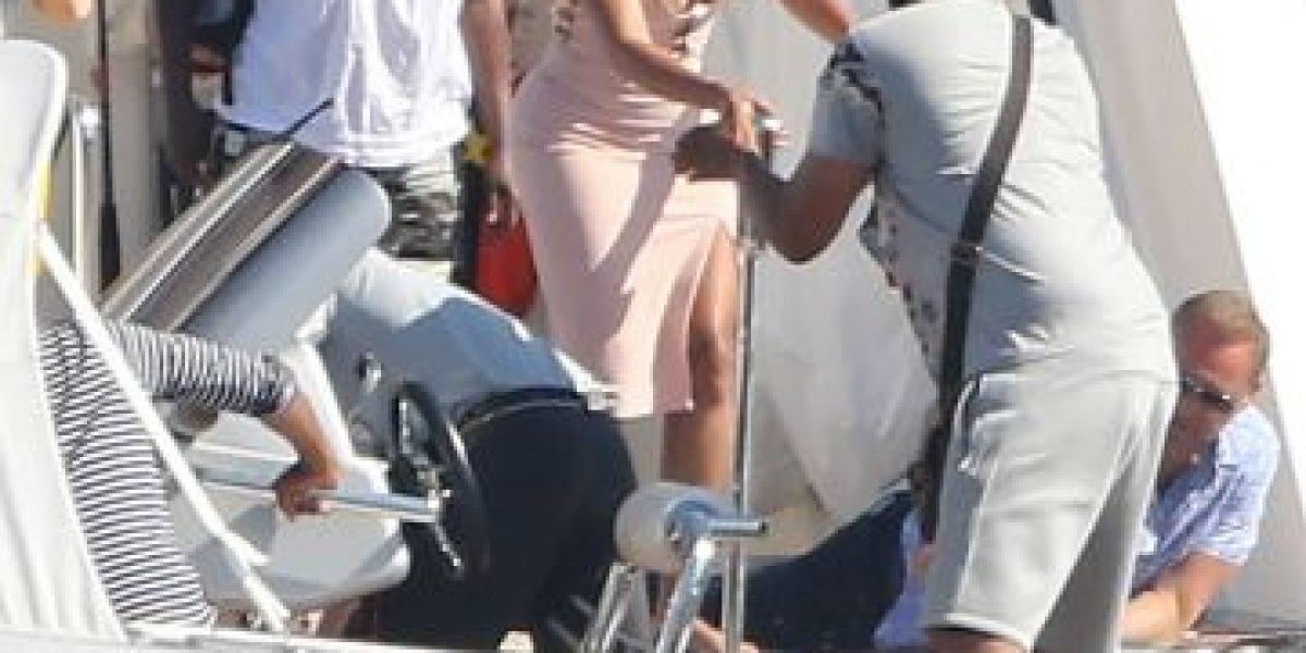 Falla en vestuario de Beyoncé dejó ver más de lo debido