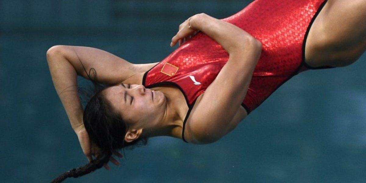Clavadista china gana medalla y recibe propuesta de matrimonio en #Rio2016
