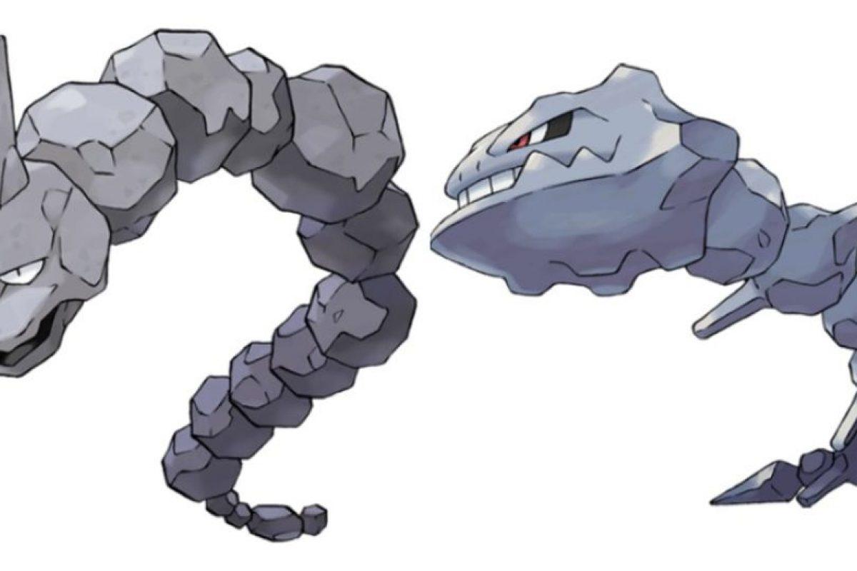 Onix – Steelix. Foto:Pokémon / Nintendo