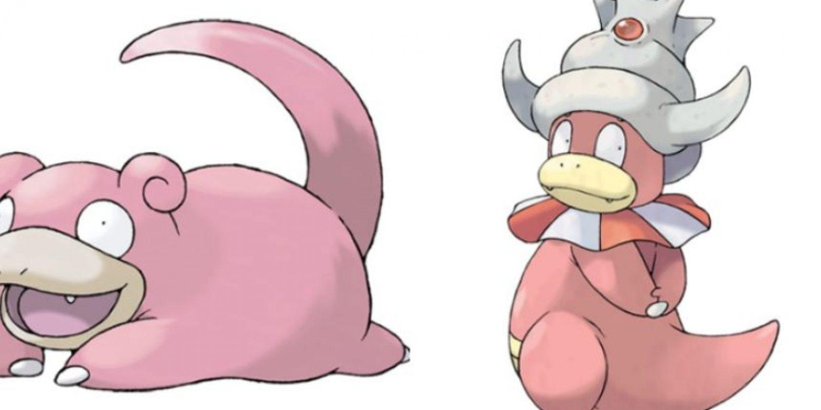 Slowpoke – Slowking. Foto:Pokémon / Nintendo