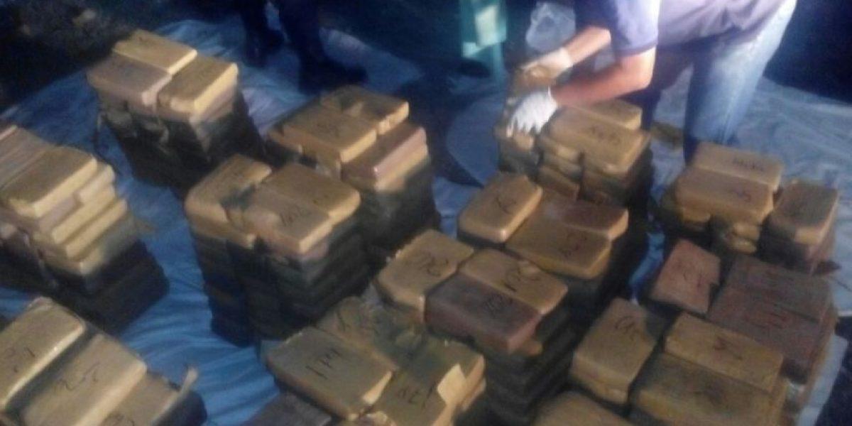 Decomisan 585 kilos de cocaína en Granados, Baja Verapaz