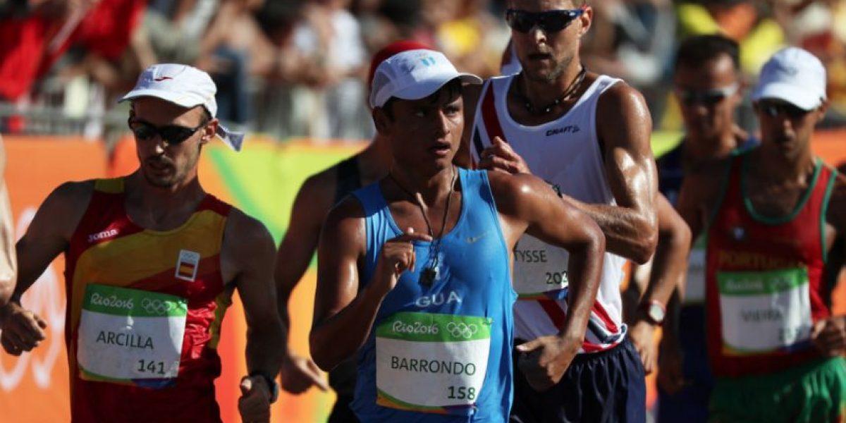 Erick Barrondo le dice adiós a Rio 2016