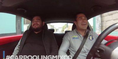 """Neto Bran realiza su primer """"Carpooling"""" y hasta le canta a las mujeres"""