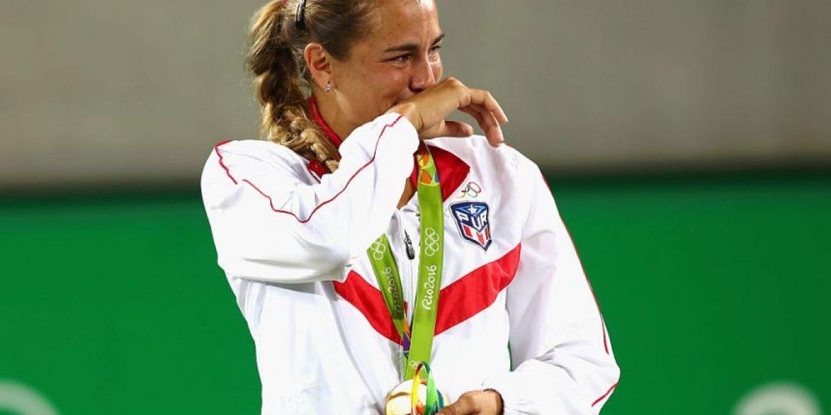 Tenista Mónica Puig gana primera medalla de oro para su país
