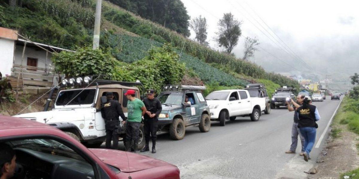 Capturado por muerte de una menor de edad, que fue localizada en el Lago de Atitlán