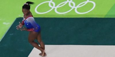 La gimnasta estadounidense fue la auténtica sensación en las justas que se celebran en Brasil. Foto:COG