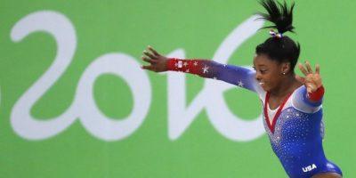 Simone Biles amplía a cuatro su colección de oros en #Rio2016