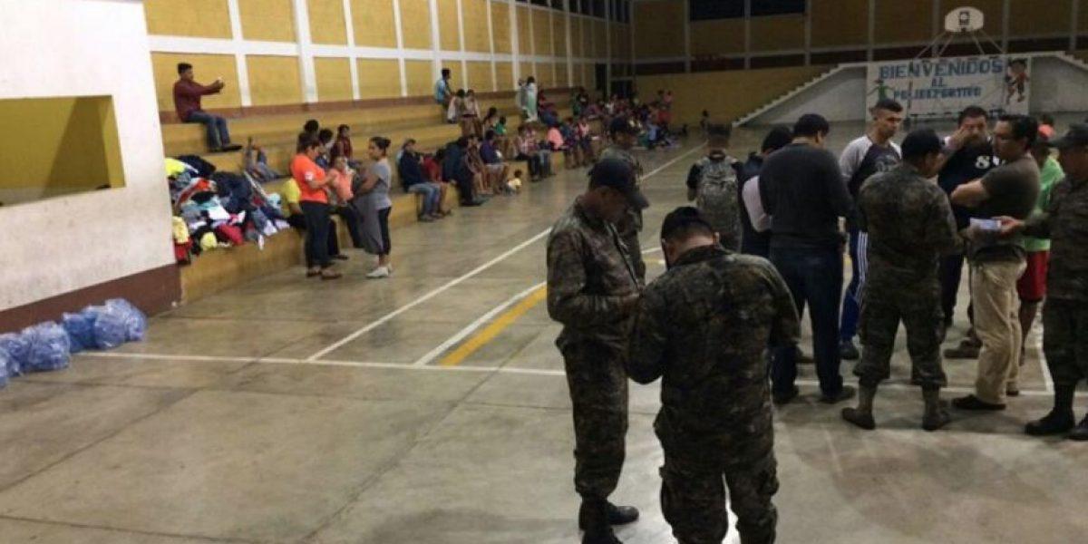Deslizamiento obliga a evacuación en Gualán, Zacapa