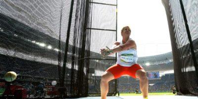 Anita Wlodarczyck. Es la mejor de la historia del lanzamiento de martillo Foto:Getty Images