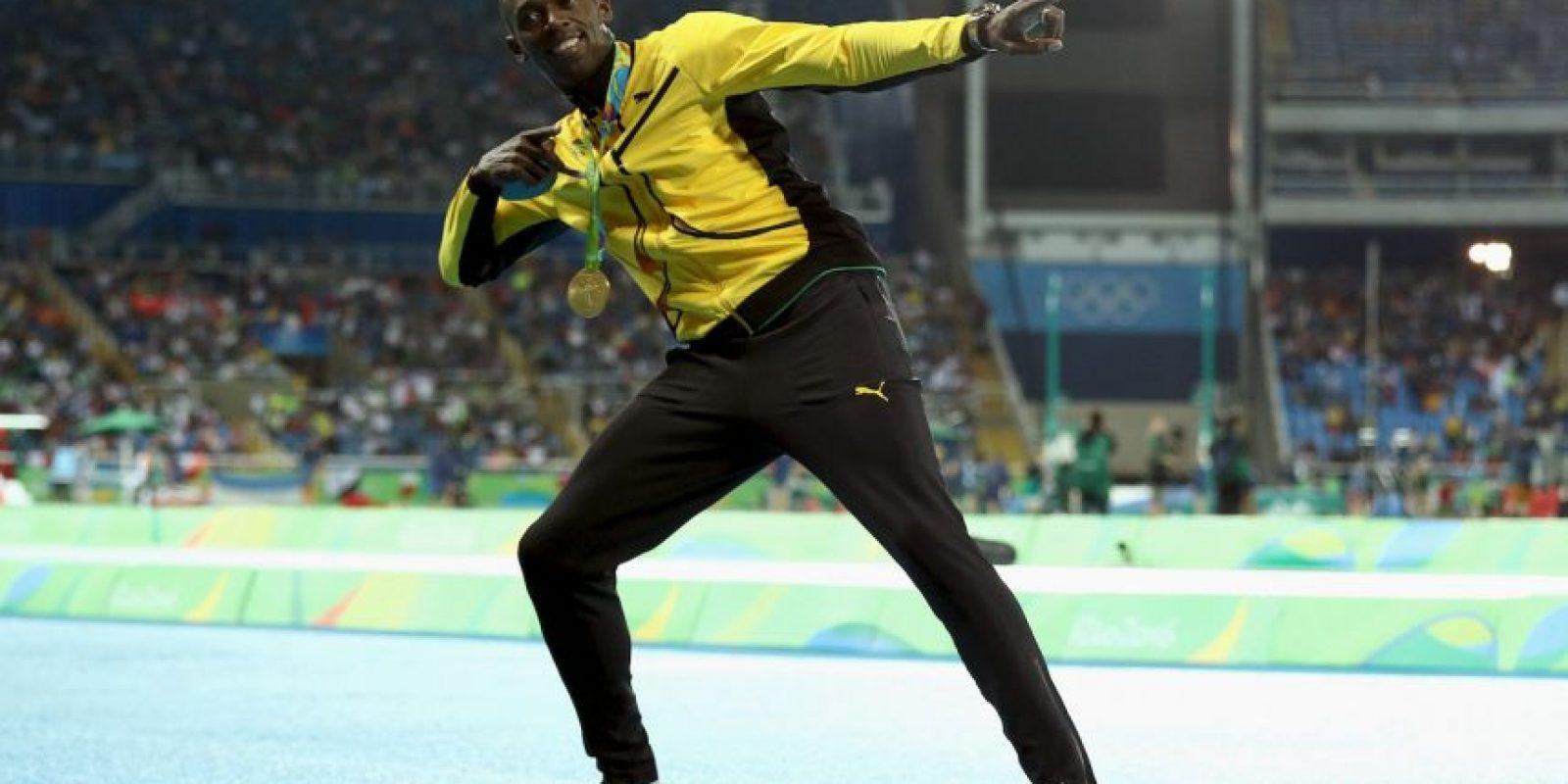 Teriminó la prueba en 9.81 segundos Foto:Getty Images