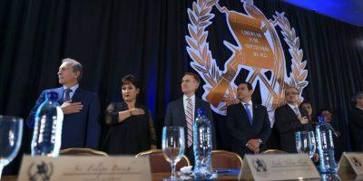 Empresarios y gobernantes comparten en el Tercer Desayuno de Oración por Guatemala