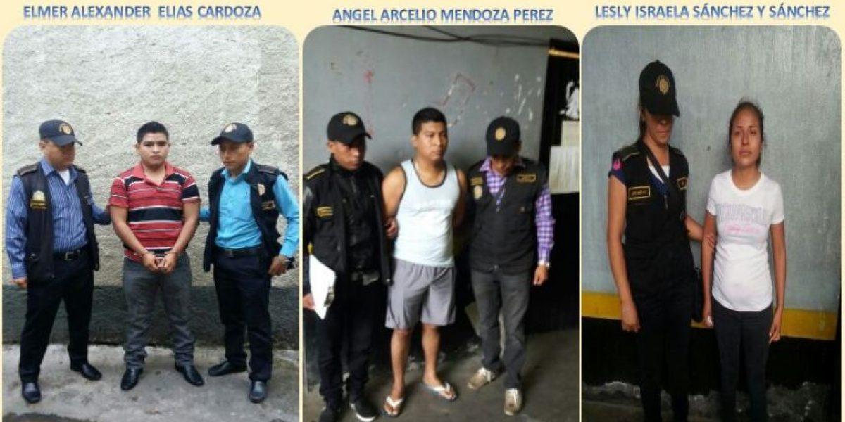 """Capturan a agentes de PNC vinculados a estructura de """"tumbe"""" de droga"""