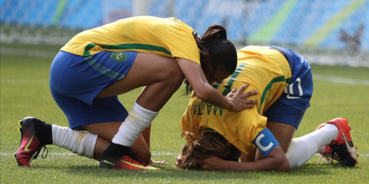 VIDEO. El inconsolable llanto de Marta por la eliminación de Brasil