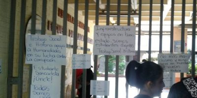 Estas son las demandas de los estudiantes Foto:CEUG