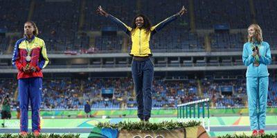 Se coloca en el sitio 23 con dos oros y dos platas Foto:Getty Images