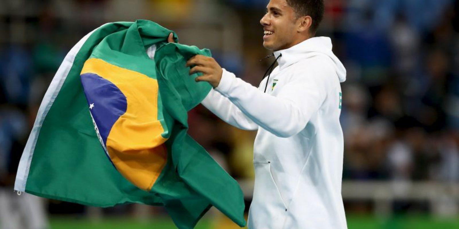 Aparece en el puesto 15 del medallero con tres oros, cuatro platas y el mismo número de bronces Foto:Getty Images